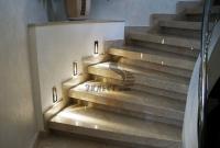 Изготовление и освещение лестниц от компании «Эклест»!